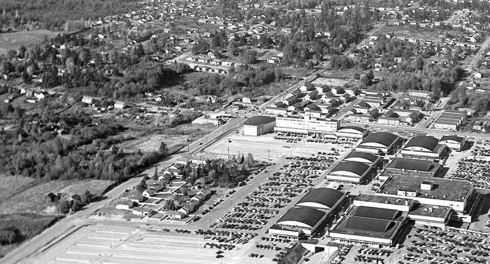 An Closer Version Of An Undated Photo Of Northgate Mall