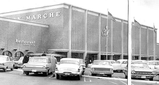 The Bon Marche, now Macy's, and the Legend Room, March 1965. Photo: Seattlepi.com File