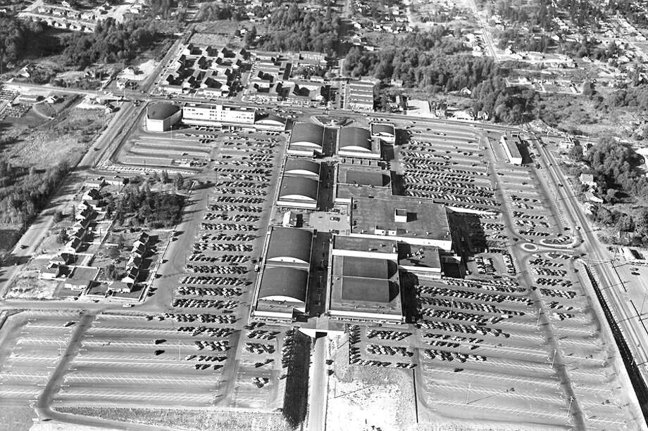 An undated photo of Northgate Mall. The photo was likely taken in the late 1950s. Photo: Seattlepi.com File