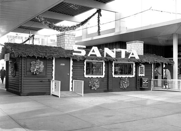 Christmas at Northgate, Dec. 1965. Photo: Seattlepi.com File