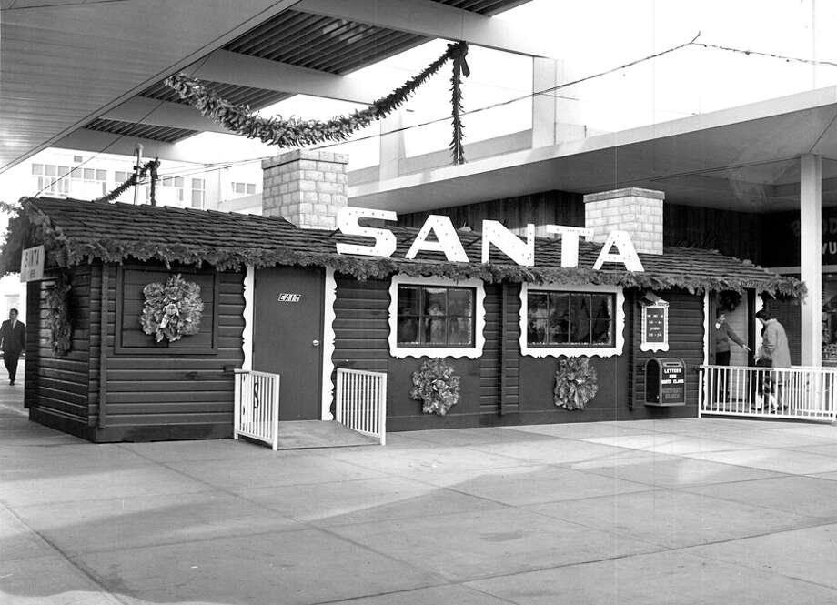 Christmas at Northgate, Dec. 1965. Photo: Seattlepi.com File