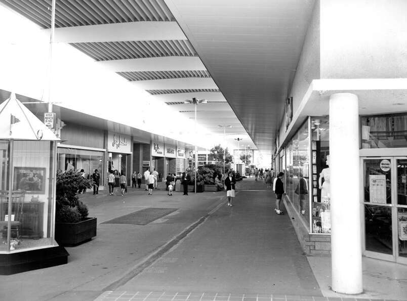 Northgate Mall, March 1965.