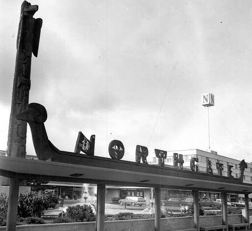 An undated photo of a former Nortgate sign. Photo: Seattlepi.com File