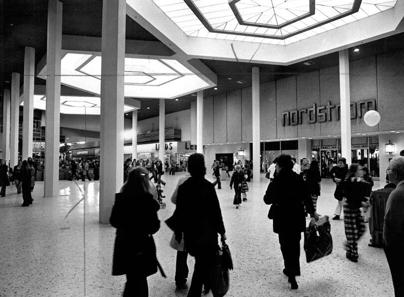 Northgate Mall, Dec. 1974.