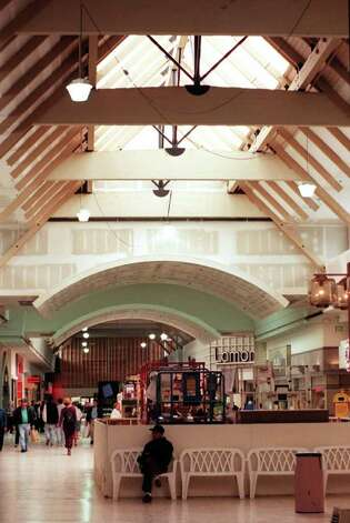 The inside of the Northgate Mall showing renovations, July 10, 1997. Photo: Seattlepi.com File
