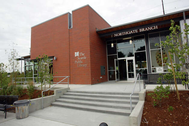 The Northgate branch of the Seattle Public Library had a grand opening July, 15, 2006. Photo: Seattlepi.com File
