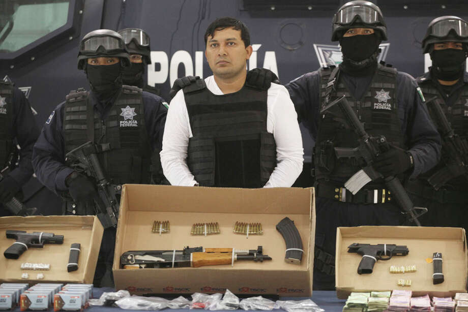 Jesus Rejón was the reputed Zetas leader in the area where U.S. agent Jaime Zapata was killed in February. Photo: Alexandre Meneghini / AP