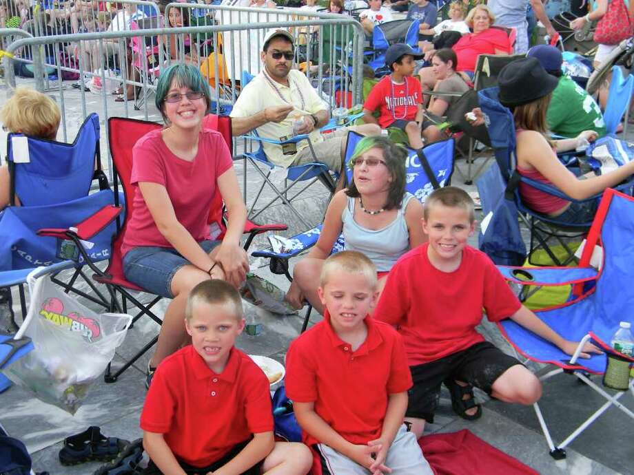 Were you seen at the 2011 Fourth of July fireworks at the Empire State Plaza? Photo: Frank Aguado