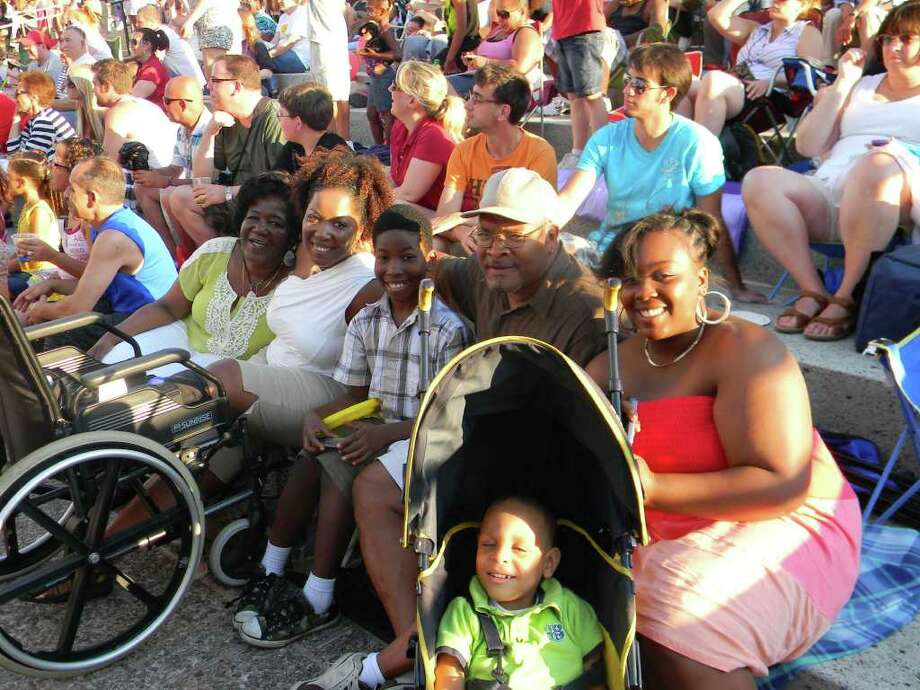 Were you Seen at the 2011 Fourth of July fireworks at Empire State Plaza? Photo: Frank Aguado