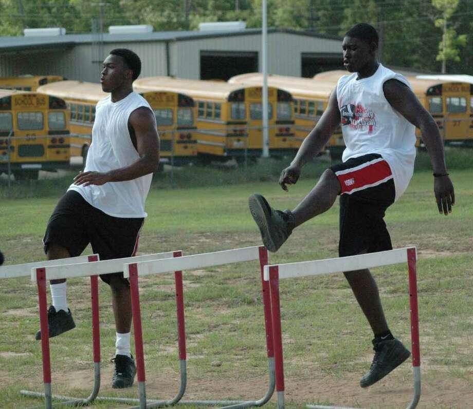 Jasper athletes are hard at work in off-season workouts. Photo: Jimmy Galvan
