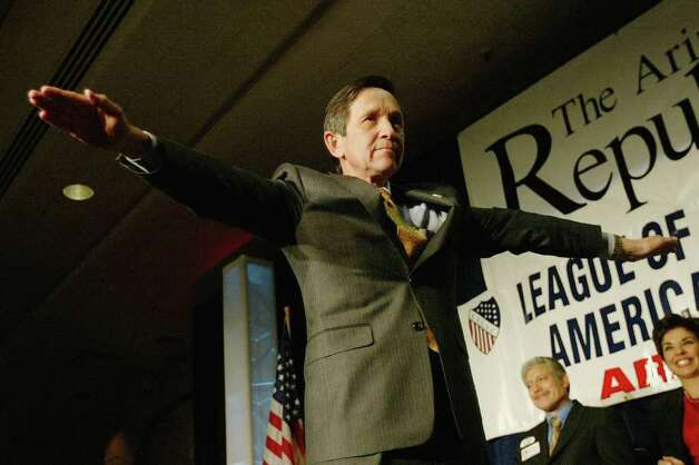 In 2004, U.S. Rep. Dennis Kucinich, D-Ohio, had at least one high-profile musical backer of his presidential bid. Photo: Spencer Platt, Getty Images / 2004 Getty Images