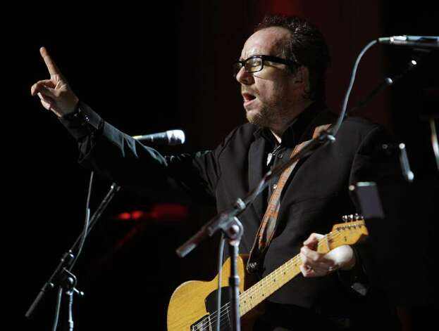We don't know if Elvis Costello supported Hillary Clinton in the 2008 presidential election (he's British anyway, so who cares?). But Costello did performs at Clinton's 60th birthday party on October 25, 2007 at the Beacon Theater in New York. Photo: STAN HONDA, AFP/Getty Images / 2007 AFP