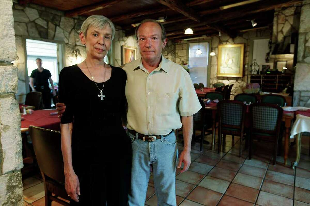 Elaine and Bruce Bicknell transformed a nondescript building into Elaine's Table, a higher-end restaurant in Hunt.