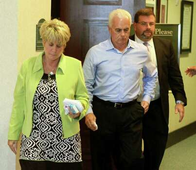 ORLANDO, FL - JULY 5:  Cindy and George Anthony, parents of Casey Anthony, are the first to leave the courtroom, with their attorney Mark Lippman, after their daughter was found not guilty in her 1st-degree murder trial, at the Orange County Courthouse July 5, 2011 in Orlando, Florida.  Casey Anthony had been accused  of murdering her two-year-old daughter Caylee in 2008.   (Photo by Joe Burbank-Pool/Getty Images) Photo: Pool / 2011 Getty Images
