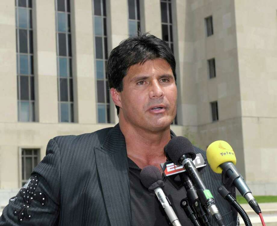 "Former Major Leaguer Jose Canseco  wrote a best-selling 2005 book, ""Juiced,"" in which he admitted using steroids and accused most other players of doing so as well. Photo: Susan Walsh/Associated Press"