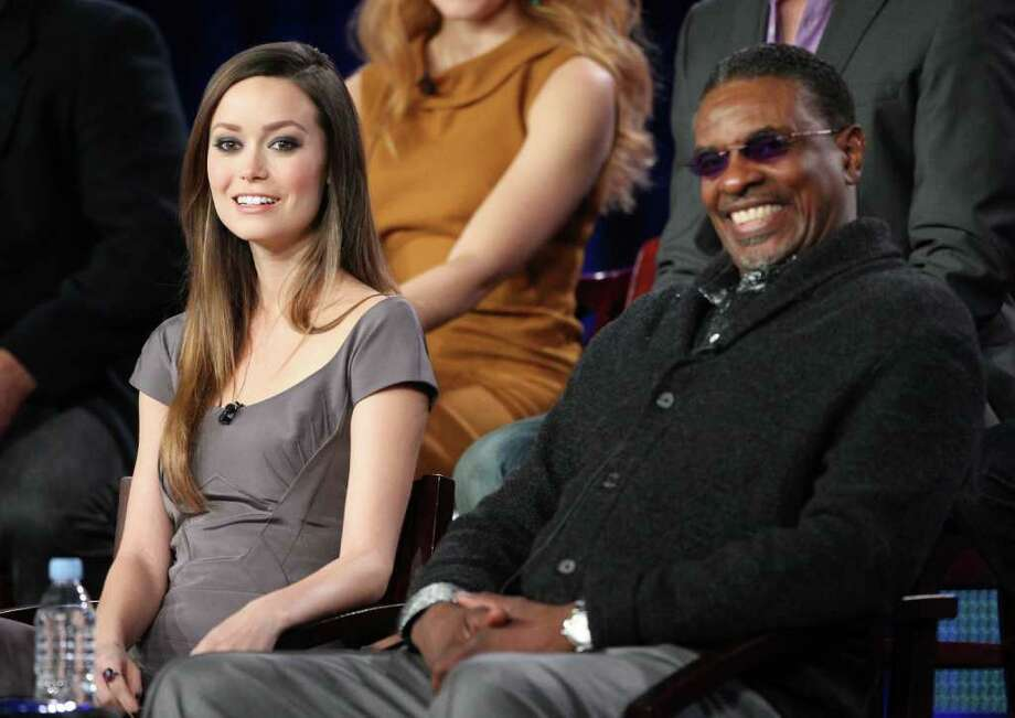 "PASADENA, CA - JANUARY 13:  Actress Summer Glau and Actor Keith David speak during ""The Cape"" panel during the NBC Universal portion of the 2011 Winter TCA press tour held at the Langham Hotel on January 13, 2011 in Pasadena, California.  (Photo by Frederick M. Brown/Getty Images) *** Local Caption *** Summer Glau;Keith David Photo: Frederick M. Brown, Getty Images / 2011 Getty Images"