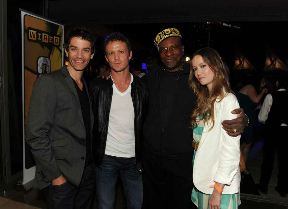 SAN DIEGO - JULY 23:  (L-R) Actors James Frain, David Lyons, Keith David, and Summer Glau attend the NBC rooftop party during Comic-Con 2010 at Omni Hotel on July 23, 2010 in San Diego, California.  (Photo by Kevin Winter/Getty Images for NBC) *** Local Caption *** James Frain;David Lyons;Keith David;Summer Glau Photo: Kevin Winter, Getty Images For NBC / 2010 Getty Images
