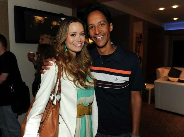 SAN DIEGO - JULY 23:  Actors Summer Glau (L) and Danny Pudi attend the NBC rooftop party during Comic-Con 2010 at Omni Hotel on July 23, 2010 in San Diego, California.  (Photo by Kevin Winter/Getty Images for NBC) *** Local Caption *** Summer Glau;Danny Pudi Photo: Kevin Winter, Getty Images For NBC / 2010 Getty Images
