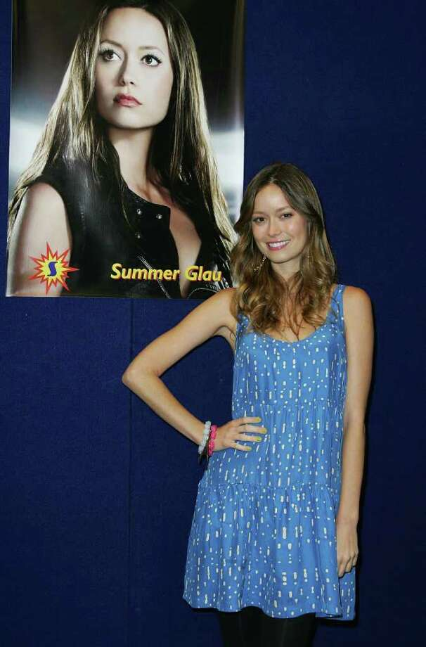 SYDNEY, AUSTRALIA - JUNE 19:  American actress Summer Glau attends the National Cosplay Championships as part of the Supanova Pop Culture Expo at the Dome at Olympic Park on June 19, 2010 in Sydney, Australia. Cosplayers and comic book and sci-fi fans from across the state gathered to meet like-minded folk and attend guest panels with the stars of some of the popular television shows and publications of the genre.  (Photo by Sergio Dionisio/Getty Images) *** Local Caption *** Summer Glau Photo: Sergio Dionisio, Getty Images / 2010 Getty Images