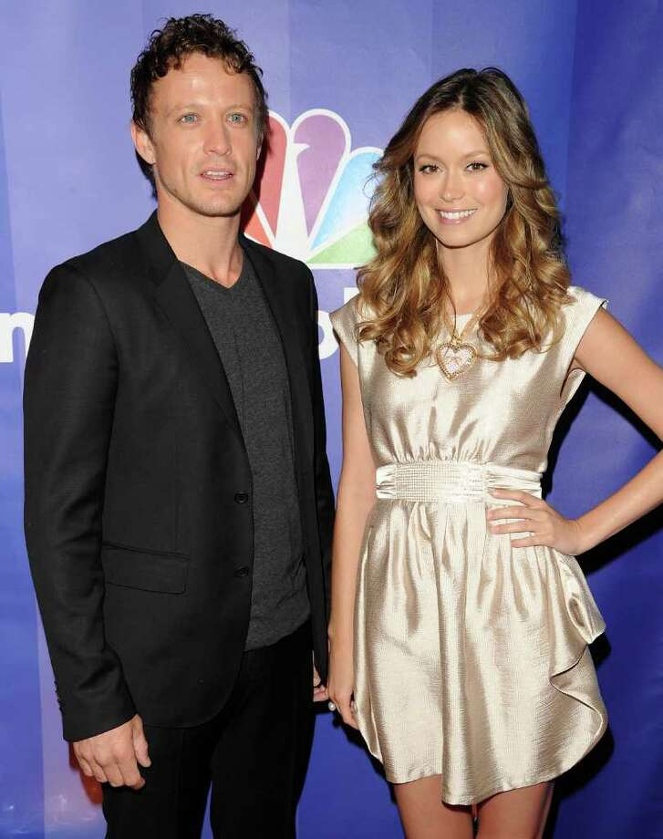 NEW YORK - MAY 17:  Actors David Lyons and Summer Glau attend the 2010 NBC Upfront presentation at The Hilton Hotel on May 17, 2010 in New York City.  (Photo by Andrew H. Walker/Getty Images) *** Local Caption *** David Lyons;Summer Glau Photo: Andrew H. Walker, Getty Images / 2010 Getty Images