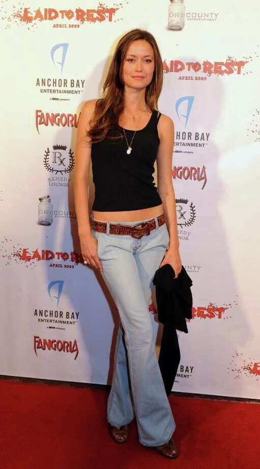 """Actress Summer Glau arrives for the premiere of the horror film """"Laid to Rest"""" at the Laemmle's Grande cinema in Los Angeles on April 18, 2009.            AFP PHOTO/Mark RALSTON Photo: AFP/Getty Images"""