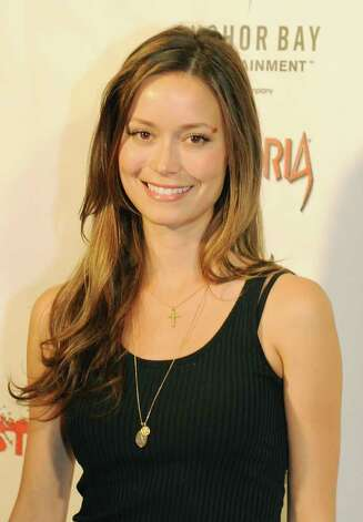 "Actors Summer Glau arrives for the premiere of the horror film ""Laid to Rest"" at the Laemmle's Grande cinema in Los Angeles on April 18, 2009.            AFP PHOTO/Mark RALSTON Photo: AFP/Getty Images"