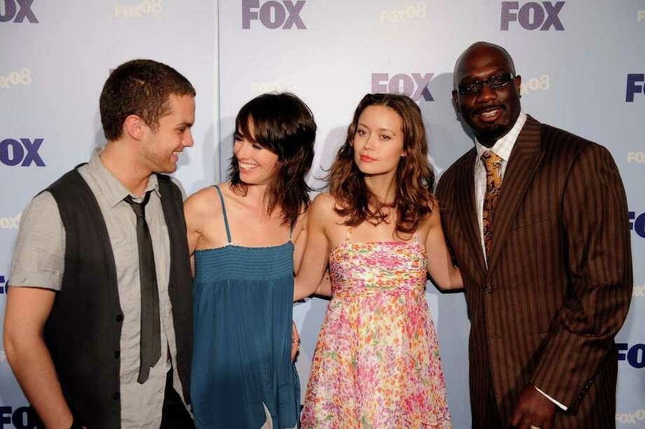 NEW YORK - MAY 15: Actors Thomas Dekker, Lena Headey, Summer Glau and Richard T. Jones attend the 2008 FOX Upfront at Wollman Rink in Central Park May 15, 2008 in New York City. (Photo by Brad Barket/Getty Images) *** Local Caption *** Thomas Dekker;Lena Headey;Summer Glau;Richard T. Jones Photo: Brad Barket, Getty Images / 2008 Getty Images