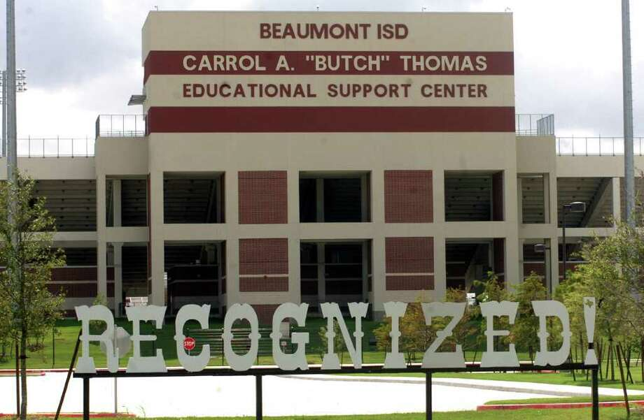 "Seven BISD employees who make up the staff at the Carrol A. ""Butch"" Thomas Educational Support Center have an average salary of $37,900. Four of these average an additional $15,000 on overtime. Pete Churton/The Enterprise Photo: Pete Churton"