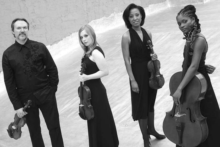 Mark O'Connor String Quartet will perform at Tanglewood in Lenox, Mass., on Thursday July 7, 2011. (Courtesy  Tanglewood)