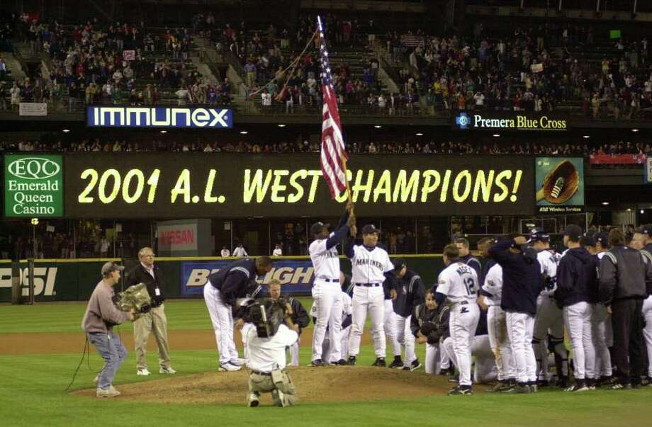 3. 2001 MarinersIt's unfortunate that the '01 Mariners are