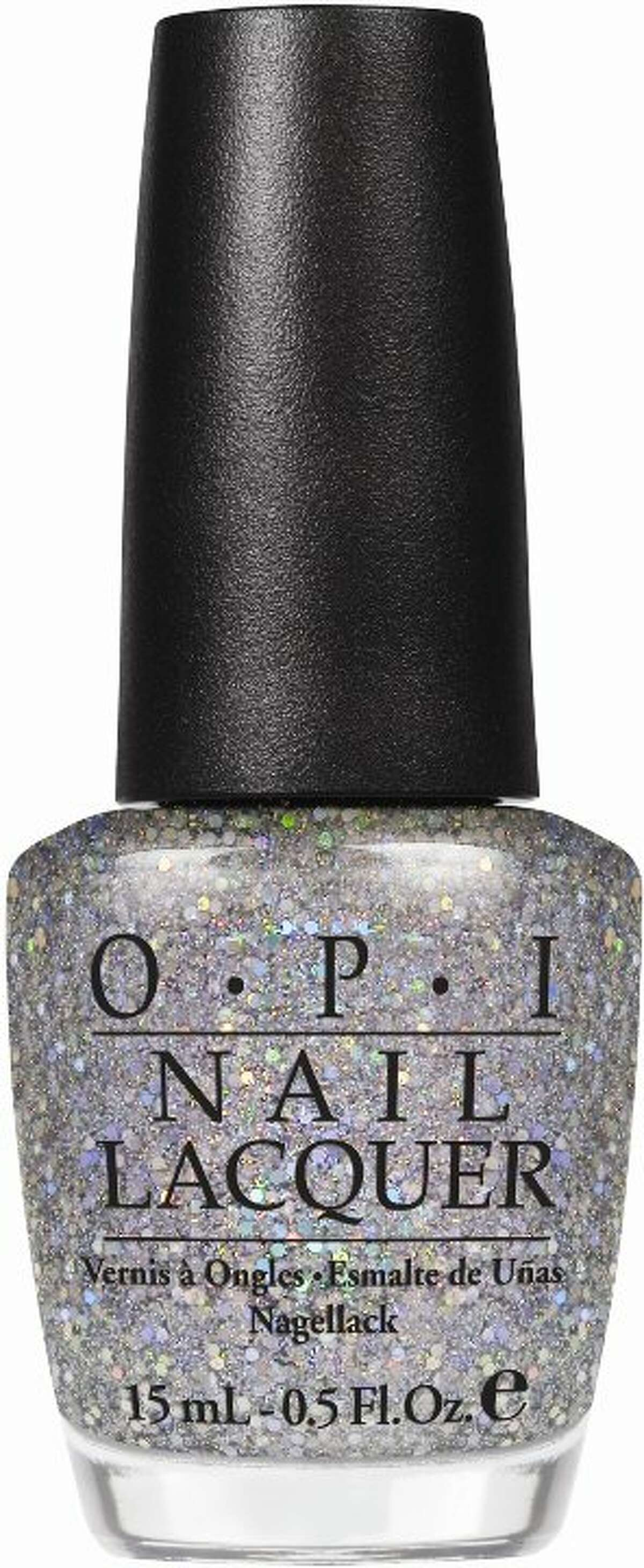 Servin' Up Sparkle is one of the new shades in Serena Williams' Grand Slam series of nail polishes for O.P.I.
