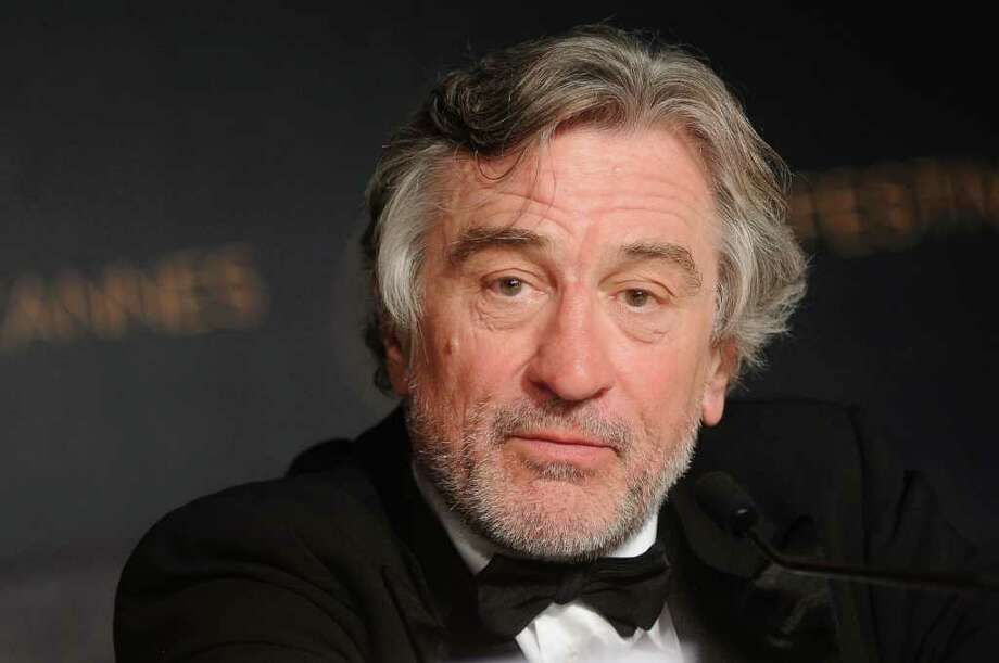 "Robert De Niro will star in ""The Wedding,"" slated for release in 2012. Producers of the movie are seeking permission to film during the overnight hours at Burning Tree Country Club in Greenwich. Photo: Francois Durand, Getty Images / 2011 Getty Images"