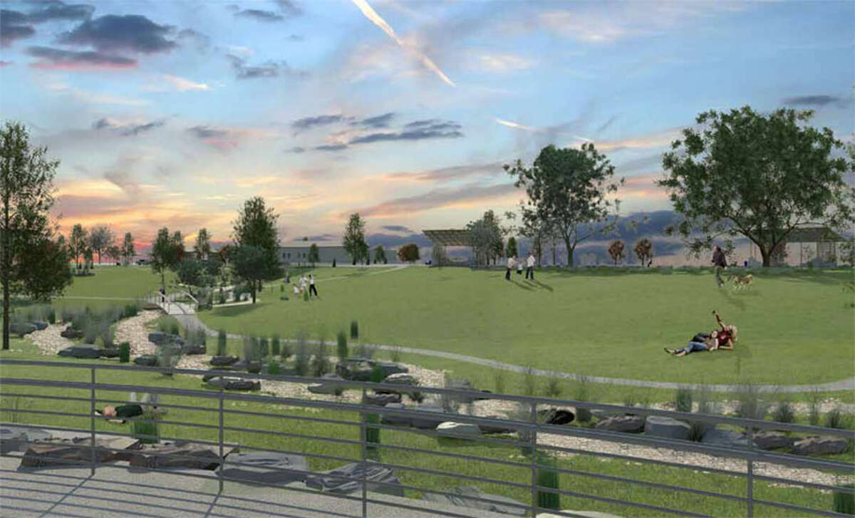 A conceptual design shows how Mission County Park 1 will look after a $4.3 million improvement project is completed next year.