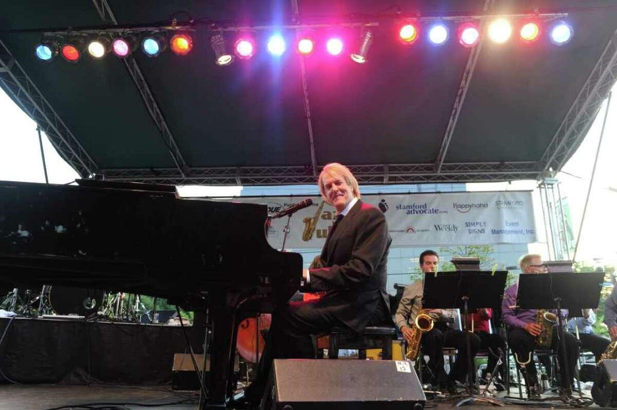 John Tesh and his big band open the Jazz in July series at Columbus Park July 6, 2011.