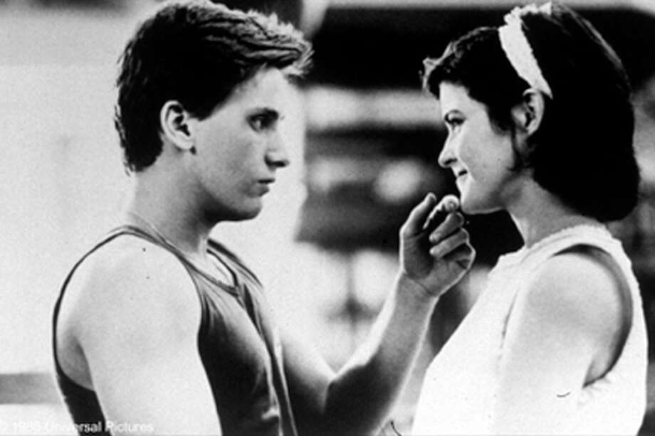 "(L-R) Emilio Estevez as Andy and Ally Sheedy as Allison in ""The Breakfast Club."""