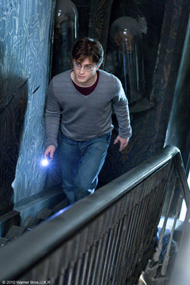 """Daniel Radcliffe as Harry in """"Harry Potter and the Deathly Hallows: Part 1."""" Photo: Jaap Buitendijk / 2009 Warner Bros. Ent, Harry Potter Publishing Rights J.K.R"""
