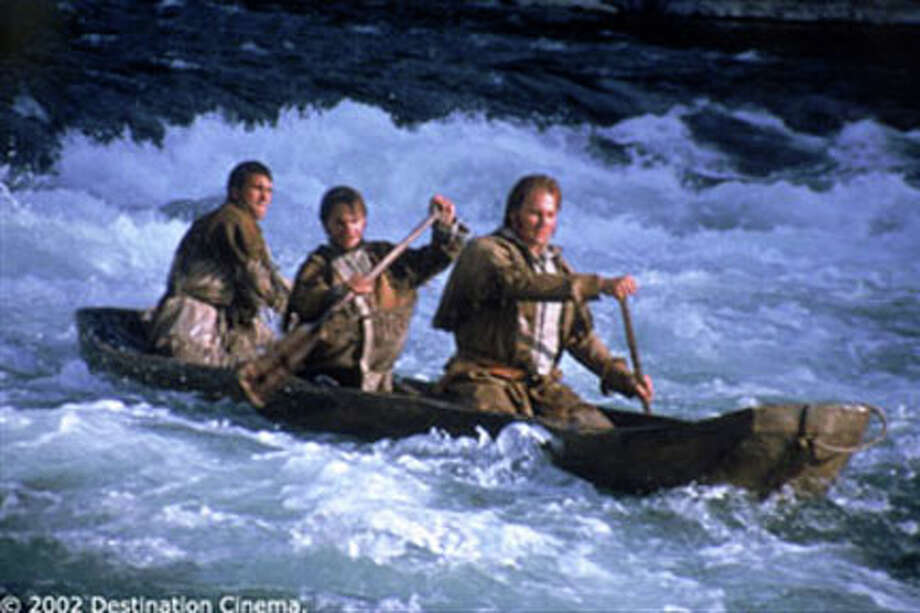 Scene from the film LEWIS & CLARK: GREAT JOURNEY WEST.