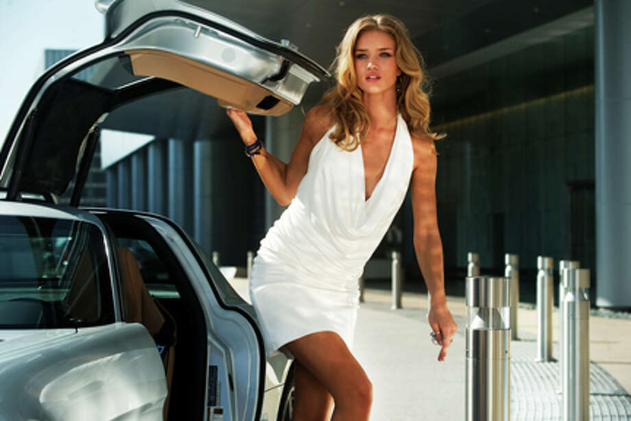 "Rosie Huntington-Whiteley as Carly in ""Transformers: Dark of the Moon."" Photo: Photo Credit: Jaimie Trueblood, Jaimie Trueblood / © 2010 Paramount Pictures Corporation.  All Rights Reserved.  Hasbro, TRANSFORMERS and all related characters are trademarks of Hasbro.  ©2010 Hasbro.  All Rights Reserved."