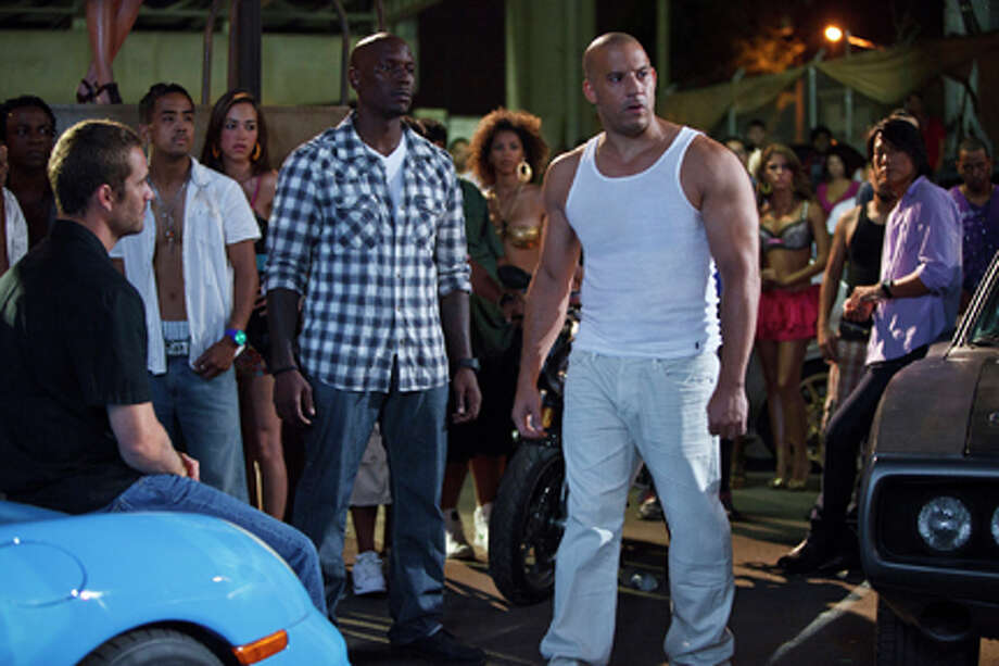 "A scene from ""Fast Five."" Photo: Jaimie Trueblood / 2011 Universal Studios"