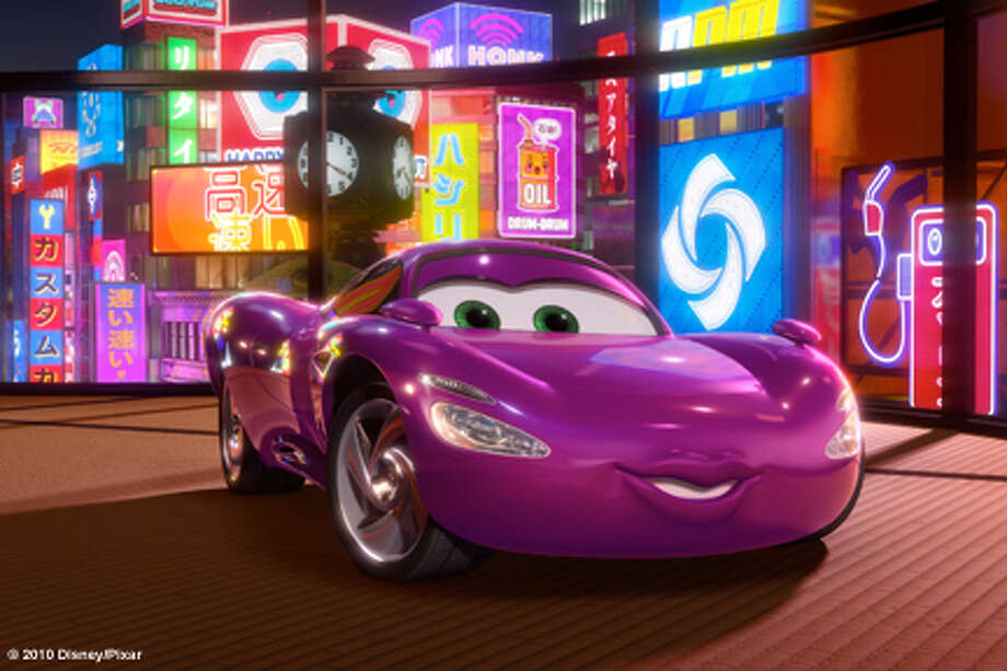 "Holley Shiftwell in ""Cars 2."" Photo: Pixar / © Disney/Pixar"