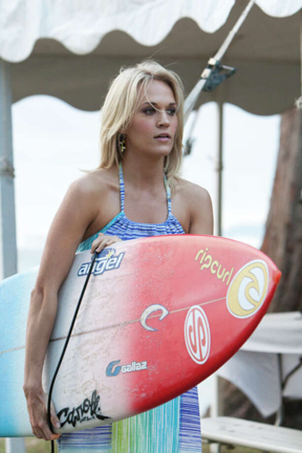 "Carrie Underwood as Sarah Hill in ""Soul Surfer."""