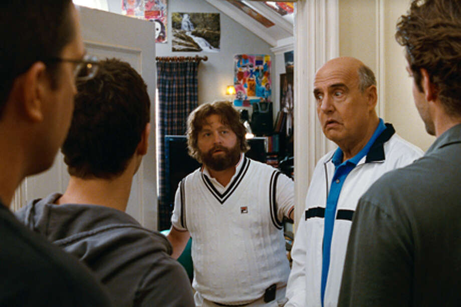 "(L-R) Ed Helms as Stu, Justin Bartha as Doug, Zach Galifianakis as Alan, Jeffrey Tambor as Sid Garner and Bradley Cooper as Phil in ""The Hangover Part II."" Photo: Courtesy Of Warner Bros. Pictures / (c) 2011 Warner Bros. Entertainment Inc. and Legendary Pictures"