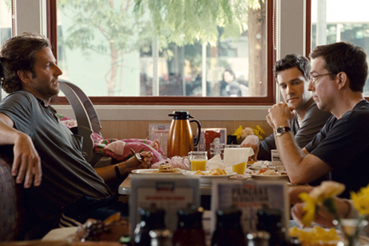 """(L-R) Bradley Cooper as Phil, Justin Bartha as Doug and Ed Helms as Stu in """"The Hangover Part II."""""""