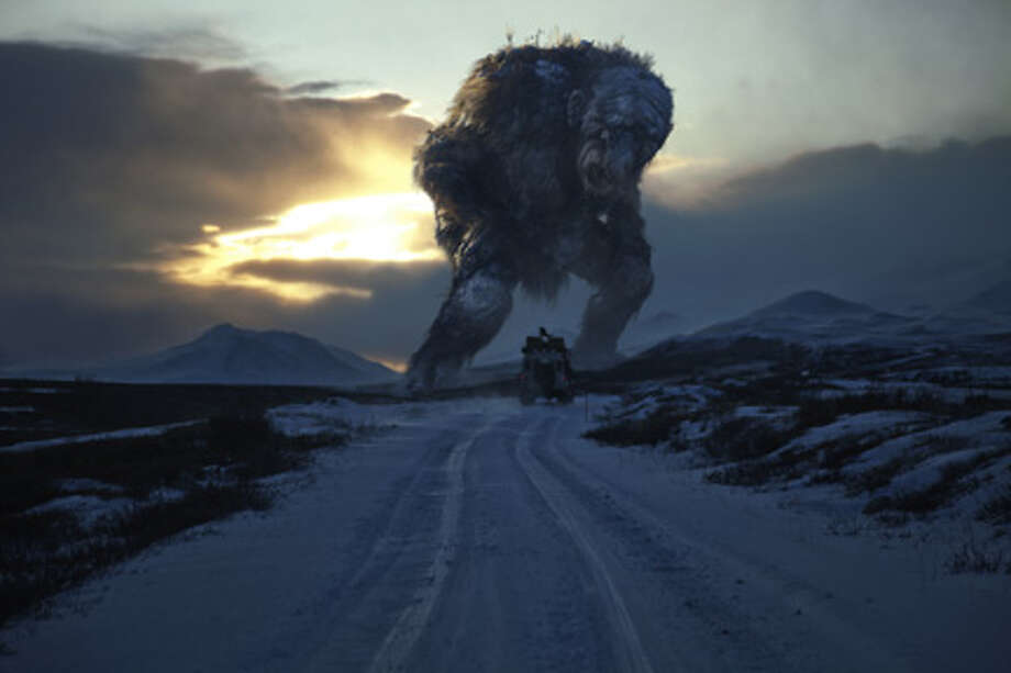 "A scene from ""Trollhunter."""