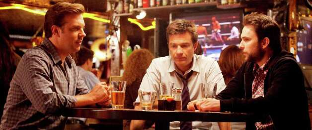 (L-r) JASON SUDEIKIS as Kurt, JASON BATEMAN as Nick and CHARLIE DAY as Dale in HORRIBLE BOSSES Photo: John P. Johnson, Warner Bros. Pictures / © 2011 New Line Productions Inc.