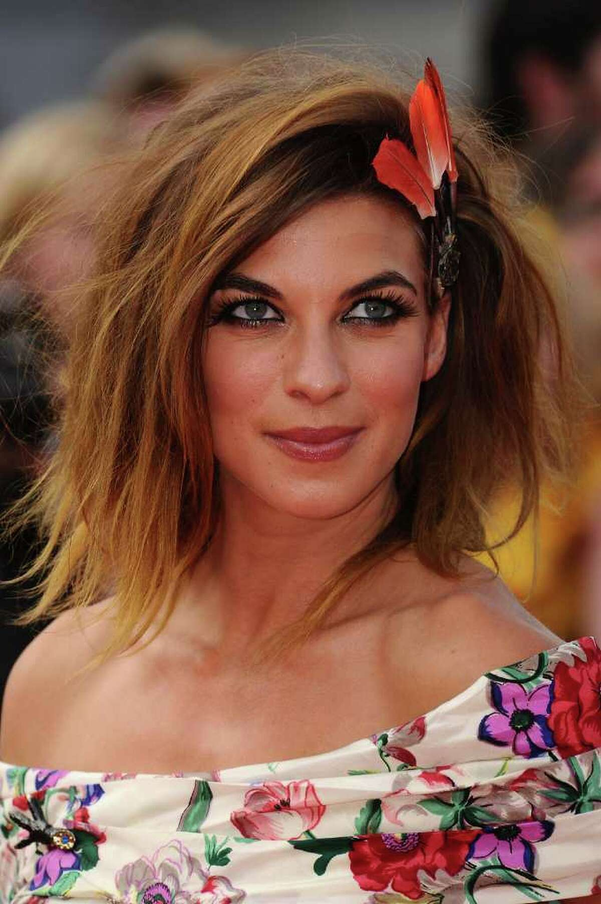 LONDON, ENGLAND - JULY 07: Actress Natalia Tena attends the World Premiere of Harry Potter and The Deathly Hallows - Part 2 at Trafalgar Square on July 7, 2011 in London, England. (Photo by Ian Gavan/Getty Images)