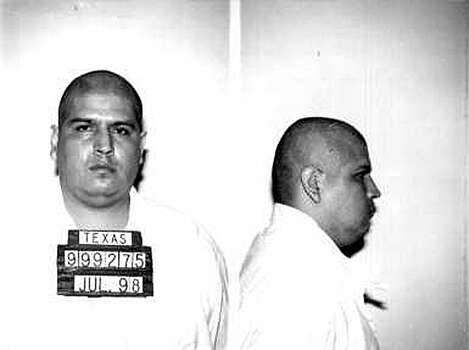 Ruben Ramirez Cardenas Age: 41 Incident age: 26 Incident date: Feb. 22, 1997 County: Hidalgo TDCJ arrival: July 29, 1998 Offense: Cardenas was convicted of the kidnap, rape, strangulation, and beating death of a 16-year-old girl. He and another man snuck into the girl's home through a window, tied her up with duct tape and drove her to a remote location before assaulting her. They then dumped her body in a canal. Photo: TDCJ