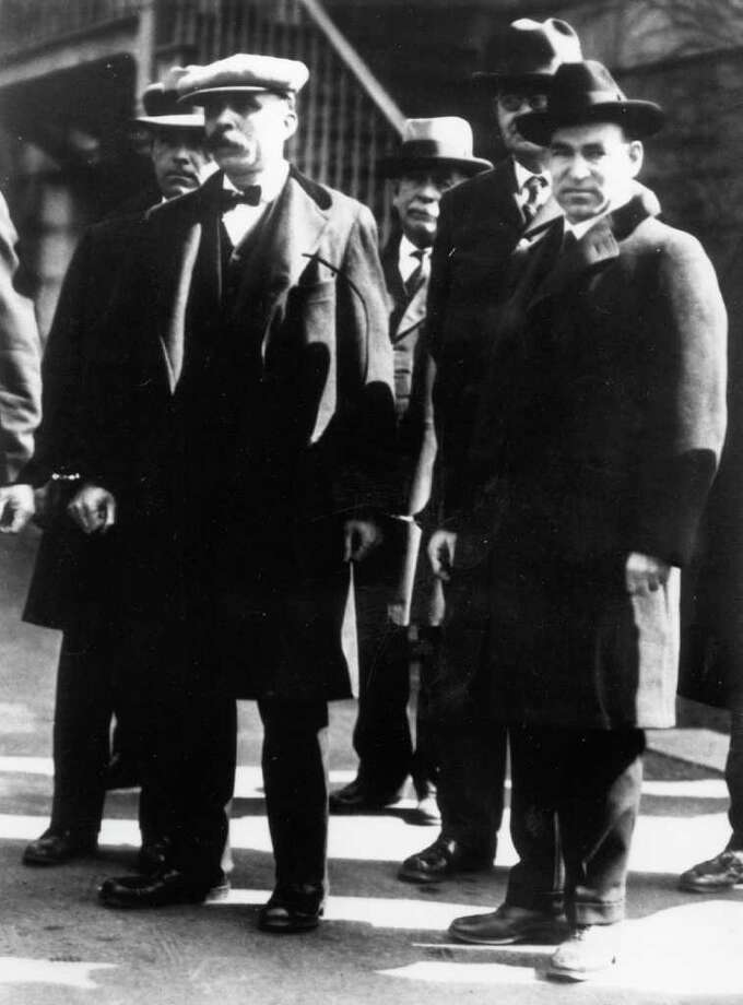 the case of sacco and vanzetti convicted for burglary and murder