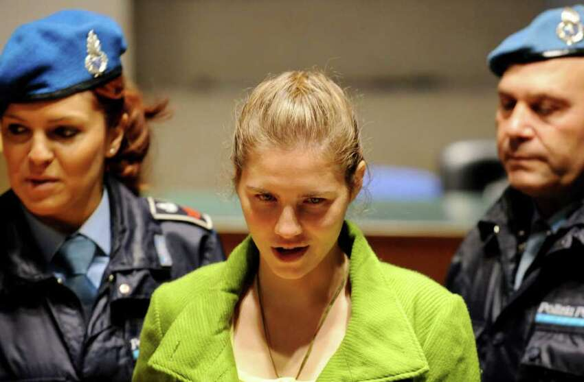 Seattle student Amanda Knox and former Italian boyfriend Raffaele Sollecito were convicted in 2009 of murdering British housemate Meredith Kercher in 2007 while they were both exchange students in Perugia, Italy. Knox was sentenced to 26 years in prison, while Sollecito got 25 years.