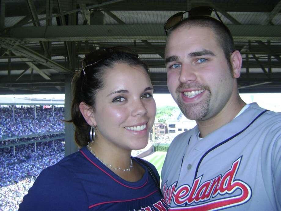 Joe and Dolly at a baseball game. StarLove0710 Photo: Joe Curiale